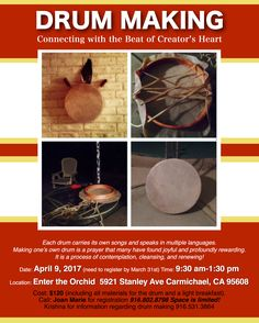 Build your own Sacred Drum!
