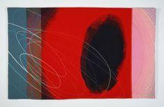 Jo Barker, Resonance, 125 x 171 cm, wool, cotton, linen, & embroidery threads