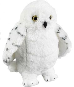 Harry Potter gosedjur från Noble Collection. Be Hedwig Harry Potter, Realistic Stuffed Animals, Fantastic Beasts, Cartoon Characters, Hogwarts, Owl, Plush, Future Children, Plushies