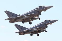 https://flic.kr/p/MMEa4b   Aeronaves del Ala 14   Eurofighters del Ala 14