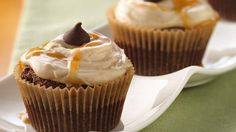 Spiced Chocolate Cupcakes with Caramel Buttercream Recipe