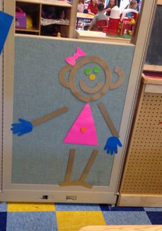 Interactive Mat Girl. Handwriting without tears