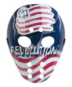 Take a look at this New England Revolution Mask by Foamheads on #zulily today!