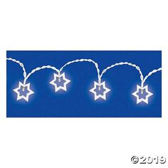 There's no better way to celebrate the Festival of Lights! A glowing addition to Hanukkah décor, this set of string lights features a simple yet . Party Expert, Scandinavian Style Home, Led String Lights, Star Of David, Halloween Items, How To Clean Furniture, Halloween Accessories, Festival Lights, Oriental Trading