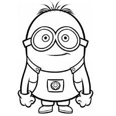 1000 images about disegni quiz on pinterest coloring for Minions immagini da colorare