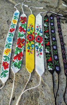 Loom Bracelet Patterns, Diy Friendship Bracelets Patterns, Bead Loom Bracelets, Bead Loom Patterns, Woven Bracelets, Bracelet Crafts, Beading Patterns, Ankle Bracelets, Bead Embroidery Patterns