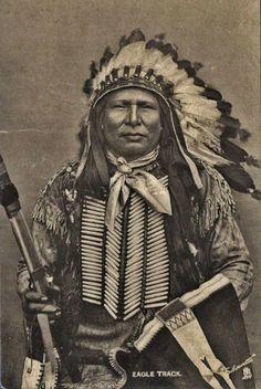 Wanbdi Owe (aka Eagle Track) in Washington, D.C. - Yankton - 1905: