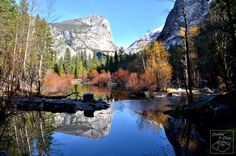 Mirror Lake in Yosemite National Park in Fall/Winter of 2012-2013