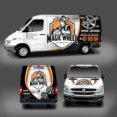 Timmy D picked a winning design in their car, truck or van wrap contest. For just $299 they received 62 designs from 12 designers.