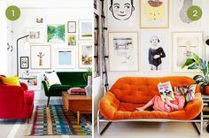 10 Colorful Living Room Sofas
