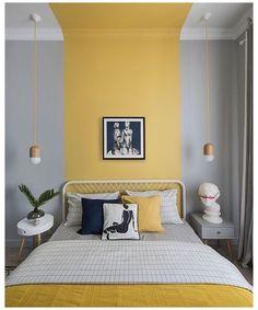 Home Decor Kitchen, Home Decor Bedroom, Bedroom Wall, Diy Home Decor, Bed Room, Bedroom Modern, Bedroom Ideas, Ikea Bedroom, Gray Bedroom