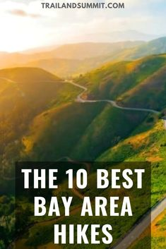 The 10 Best Bay Area Hikes If youre looking for some amazing hikes that showcase the beauty of Mother Nature the Bay Area offers some of the best hiking views and conditi. Hiking Places, Hiking Trails, Hiking Spots, Usa Travel Guide, Travel Usa, Northern California Travel, Visit California, San Jose California, Bay Area Hikes