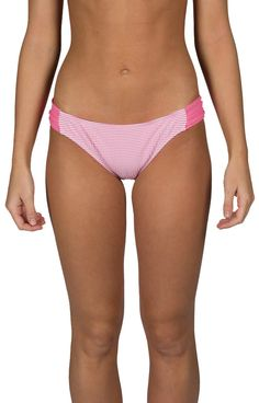 Seersucker Bandeau Bikini Bottom - $55.00 - Leave it to Lauren James to bring preppy to the beach! If a basic banded bottom is your thing then these seersucker bandeau bikini bottom are the bottoms for you! Pair it with any of the Lauren James Bikini tops (sold separately) to complete the look!  | available at http://www.envyboutique.us/product/seersucker-bandeau-bikini-bottom/ |  #LaurenJames #fashion #fashiontrends #Bikini #Seersucker