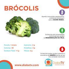 Benefícios dos Brócolis para sua saúde.