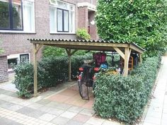 fiets overkapping maken - Google Search
