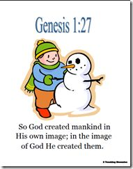 """So God created mankind in His own image; in the image of God He created them. Memory Verses For Kids, Verses For Cards, Kids Church, Church Ideas, Preschool Bible Lessons, Family Foundations, School Memories, Bible Stories, Fun Learning"