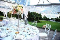 Villa in Acquaseria, Lombardy, Italy. Italy Wedding, Table Settings, Villa, Table Decorations, Vacation, Home Decor, Vacations, Table Top Decorations, Place Settings