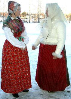 Dräktportalen - Dräkter - Dalarna - Stora Tuna kvinna Folk Costume, Costumes, Tuna, Sweden, Skirts, Fashion, Moda, Dress Up Clothes, Skirt
