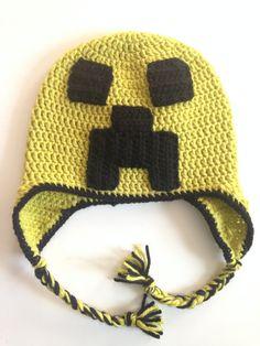 Gorro em Crochê Jogos Padrões -  /   Games Clothes  Beanie  in Crocheting Standards -