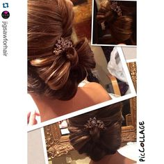 """Sneak peak of the beautiful bridal hair created by #stylist Tawsha. @stylesandthecit #jigsawbrides2014 #bows #weddinghair #weddings2014"" Photo taken by @stylesandthecitybytawsha on Instagram, pinned via the InstaPin iOS App! http://www.instapinapp.com (07/25/2015)"