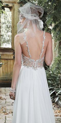 Stunning Back Detail - Maggie Sottero Jeanette Wedding Dress
