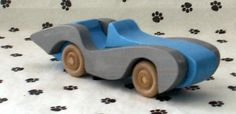 Handmade Fretwork Wood Toy Car Marlene Marvel Style by dogWoodbyDave on Etsy. $5.50, via Etsy.