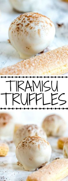 A delicious holiday fave these Tiramisu Truffles take the favorite holiday treat and make it bite sized for everyone to love.