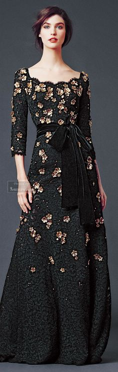 Now that's a holiday party dress - Dolce Gabbana F/W 2014-15