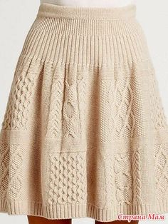 34 ideas for crochet skirt outfit cable knit Crochet Skirt Outfit, Crochet Skirts, Knit Skirt, Crochet Clothes, Sweater Skirt, Cable Knitting, Knitting Stitches, Knitting Designs, Knit Fashion