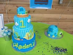 Turtle Themed 1st Birthday Party