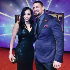 Roman and his gorgeous wife