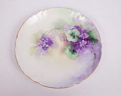 Vintage Bavaria Plate Royal Crown Tilly by LeVintageGalleria on etsy
