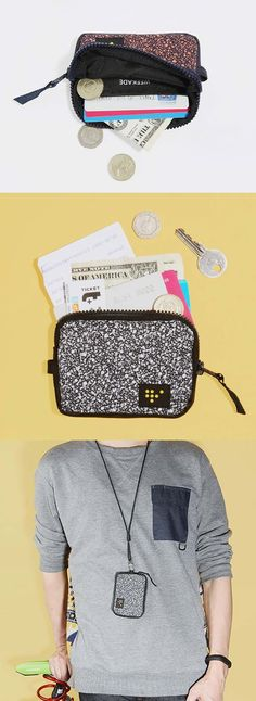 If you already know that retro is in, then you know you need this trending Weekade Mini Pouch to hold all your daily essentials like bus cards, credit cards, chapstick and keys!