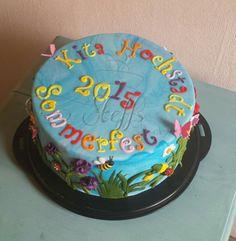 Kita Sommerfest torte Kids summer Party cake