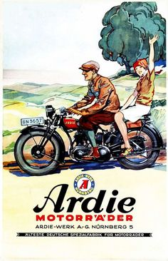 1929 Ardie Motorräder