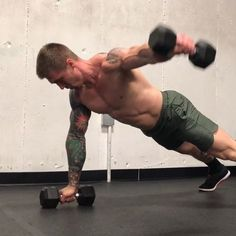 Full body work ➖➖➖➖➖➖➖➖➖➖➖➖➖➖ KB Squat Clean Thruster 3 x 8 (each side) DB Push Up Renegade Row to Reverse Fly 3 x 8 (4 each side) Weighted V Ups 3 x 20 KB Single Arm Row w/ 2 sec. hold 3 x 8 (each side) Plank Plate Push/Pull 3 x 12 (each side) Heavy Goblet Squats 3 x 12 ➖➖➖➖➖➖➖➖➖➖➖➖➖➖ 60-90 seconds rest in between sets. Go as heavy as possible on each movement while being able to maintain good form. Get out there and own it #thefunctionalmethod @thefunctionalmethod