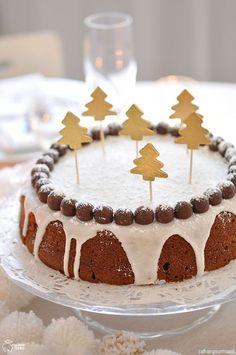 Christmas cake : La couronne des fêtes - Christmas cake, l'autre gâteau de Noël