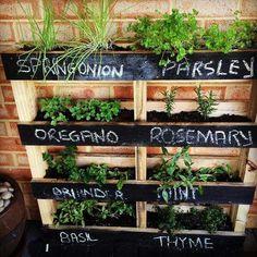 DIY Gardening Pallet Stand