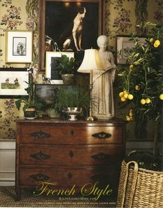 Ralph Lauren – French Country Vignette @ Home Design Pins