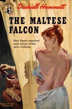 El halcón Maltés / The Maltese Falcon. Dashiell Hammett