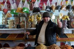 Dried Fruit & Nut Vendor, Azerbaijan
