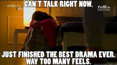 not even the best drama ever, and actually I couldn't shut up... but still. Sorry, @Safirewriter  :)