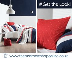 Anchor Pattern, Bold Stripes, Bespoke Furniture, Nautical Theme, Pillow Cases, Throw Pillows, Bedroom, Printed, Shop
