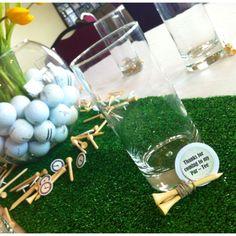 Golf theme party favors