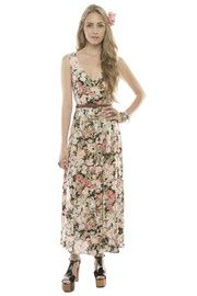 Floral button up maxi! NEED