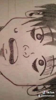 Video de dibujo creado paso a paso en mi perfil de tiktok, inspirado en el manga Killing stalking