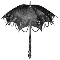 Victorian Parasols Perfect for Goth Fashion