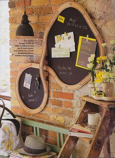 IKEA Lillabo train black board - anne loiseau » Marie Claire Idées