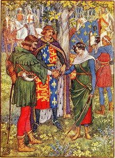 Robin Hood - Walter Crane