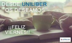 Feliz viernes 1 de abril 2016. Desde @UniliberCom os deseamos un #FelizViernes y un fin de semana repleto de nuevas lecturas! http://www.uniliber.com